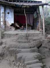 Unakoti Sadhu hut
