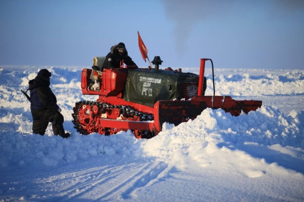 Russia's North Pole Barneo camp season cancelled before it ...