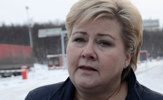 Erna Solberg Is On Her Way To The White House The