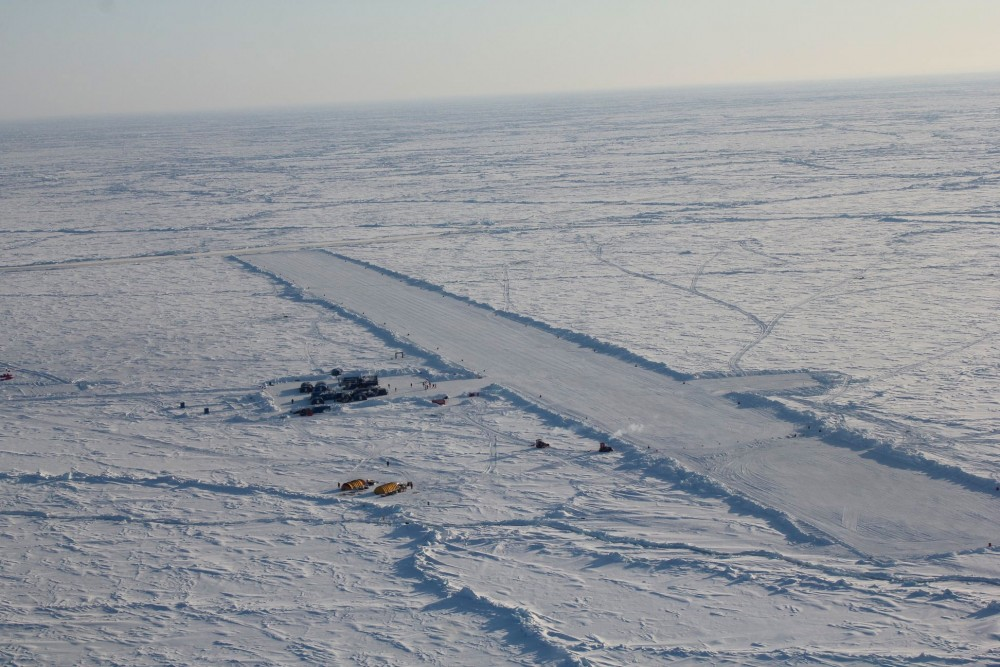 North Pole campers pack up after shortest ice drift ever ...