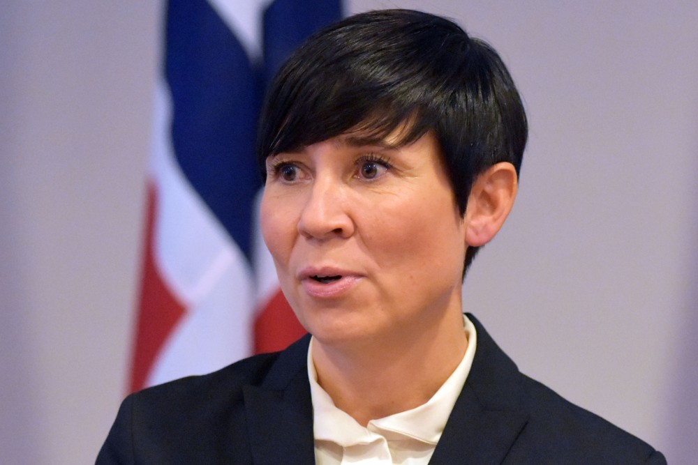 Eriksen Søreide Disappointed By Us Withdrawing From Open