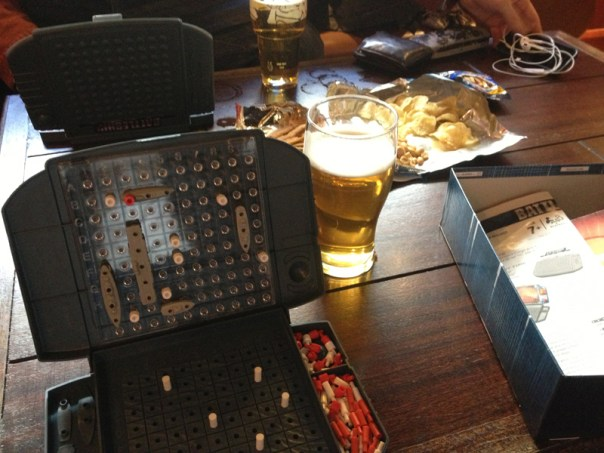 Battleships, beer and potato-based snacks: the Golden Rule is perfect for after work