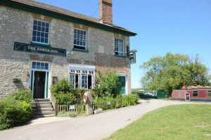 The Barge Inn by the canal