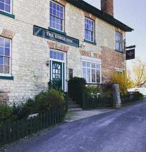 The Barge Inn entrance