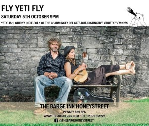 Fly Yeti Fly poster