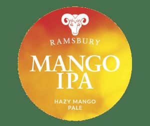 Ramsbury Mango IPA label