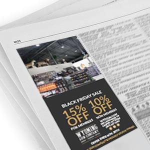 Print media buys advertising