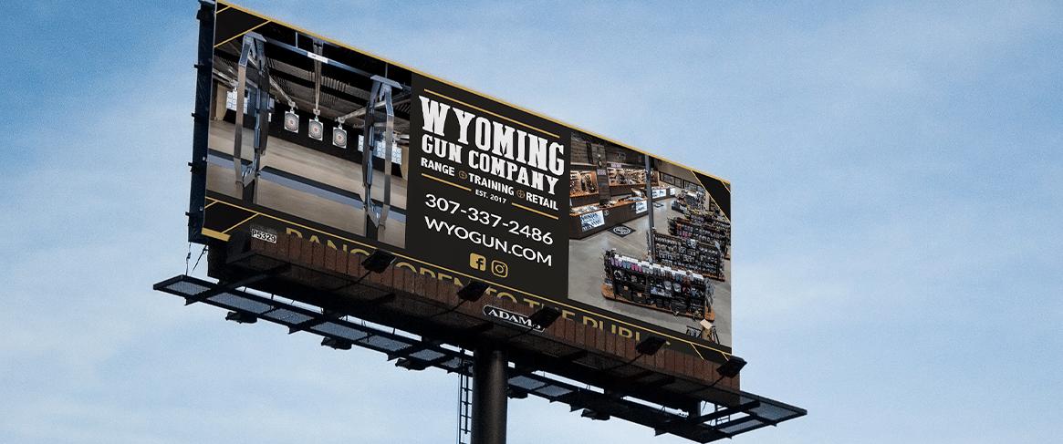 Wyoming Gun Company Billboard