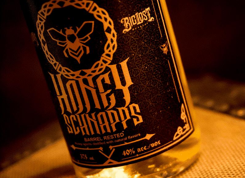 Honey Schnapps Label