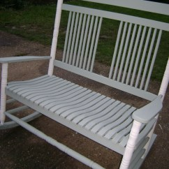 Double Rocking Adirondack Chair Plans Chromcraft Chairs Vintage Annie Sloan Old White The Barrister 39s Horse