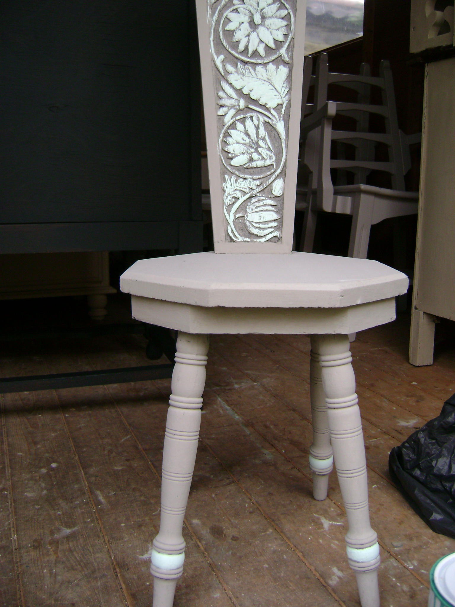 Spinning Chair Annie Sloan Old White The Barrister 39s Horse