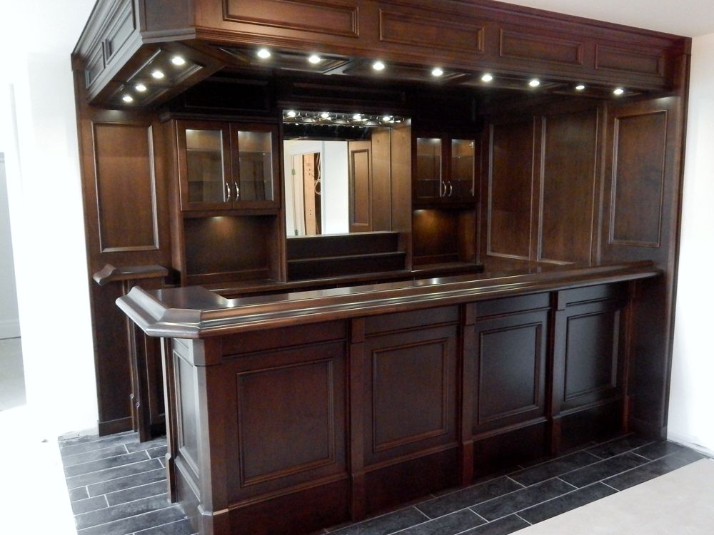 Basement Custom Bar