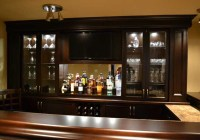 Custom Home Bar Lighting Ideas