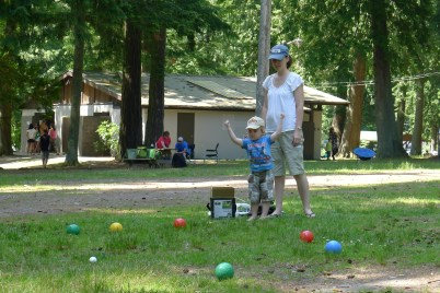 A fun wekend at Cultus Lake. Our first camping trip with Alexander