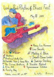 Leslie Rock Rhythm and Blues Fest