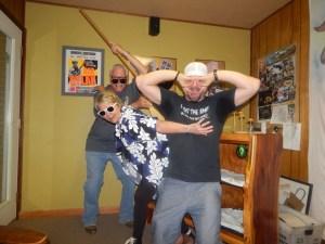 Eric Metz with Nick & Bootsy