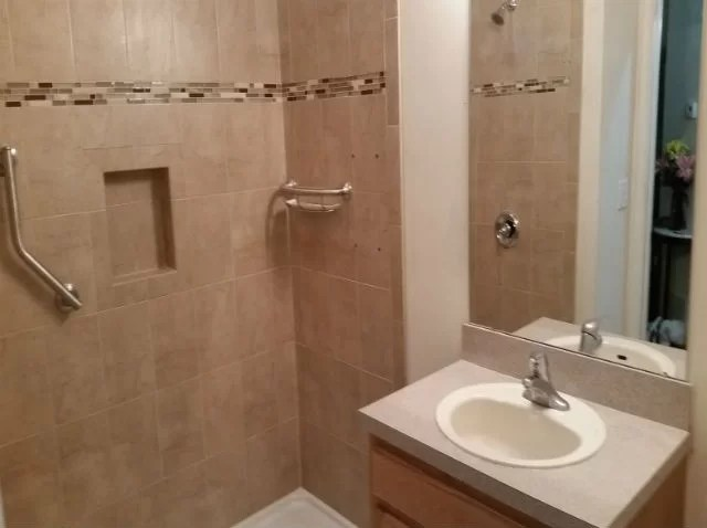 The Basic Bathroom Co  Professionally Remodeled Bathrooms