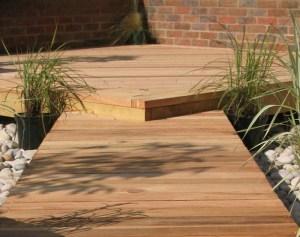 Simple Deck And Walkway