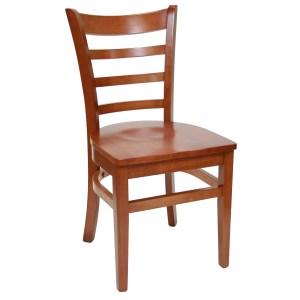 walnut wood Ladder-back Chairs