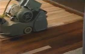 how to sand a wood floor