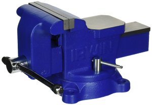 "IRWIN Heavy-Duty Workshop Vise, 6"", 226306ZR"