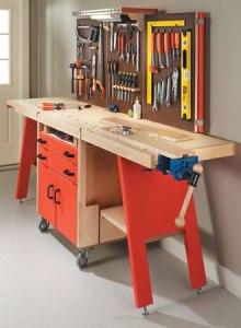 folding tool storage idea
