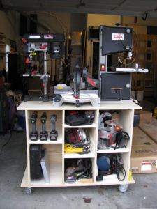 mobile tool storage unit