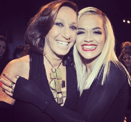 @ritaora: Miss Donna Karan. I love everything you are. Thank you. Your show. Amazing #dkny the whole team! I ❤️U!