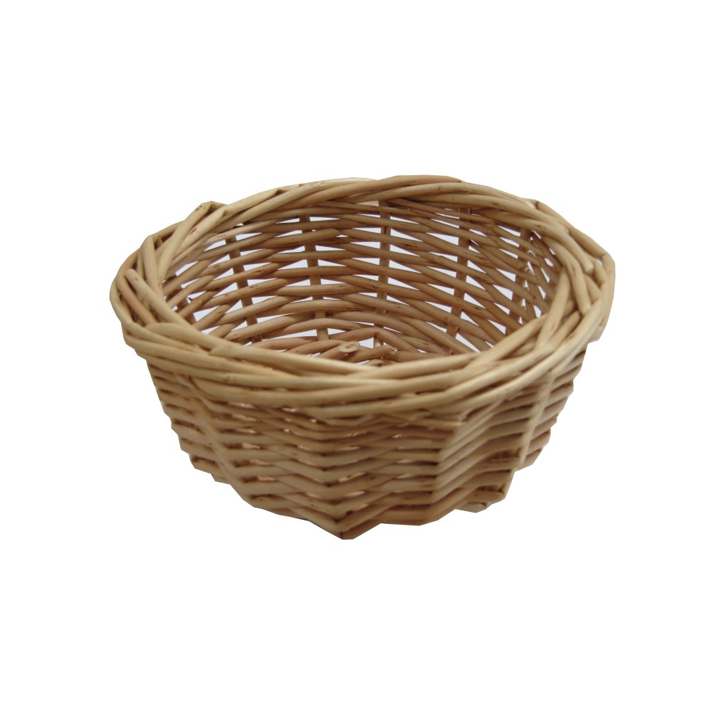 Small Wicker Hamper Buy Lynton Small Round Wicker Storage Basket From The