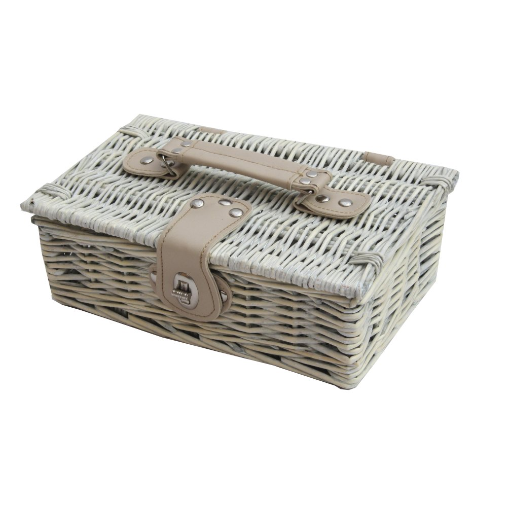Small Wicker Hamper Buy Provence White Wash Small Wicker Empty Hamper Basket