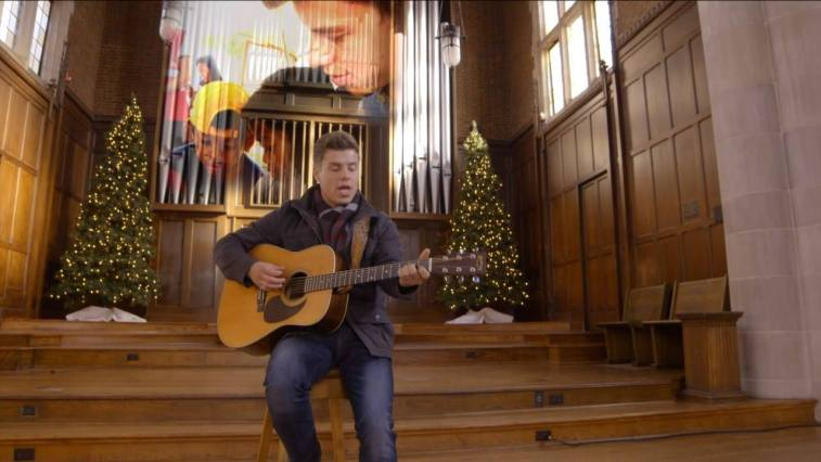 """Lawson's new video for """"Back To Christmas"""" is so moving & very fitting! Hope…"""