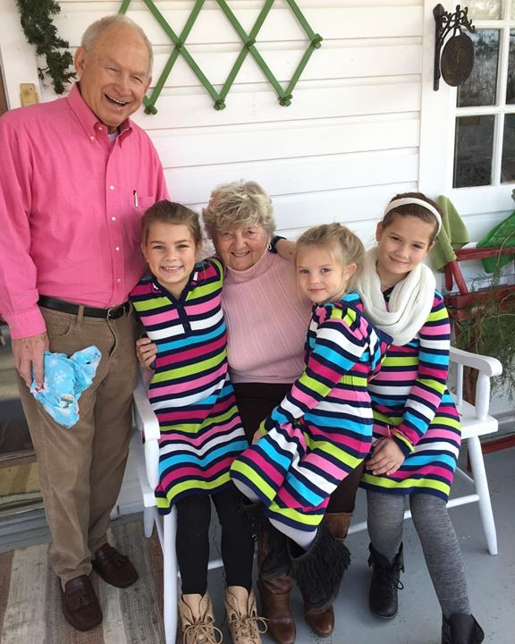 "Sporting new matching dresses from Mama Jane for Christmas! A great big ""Thanks"" to…"