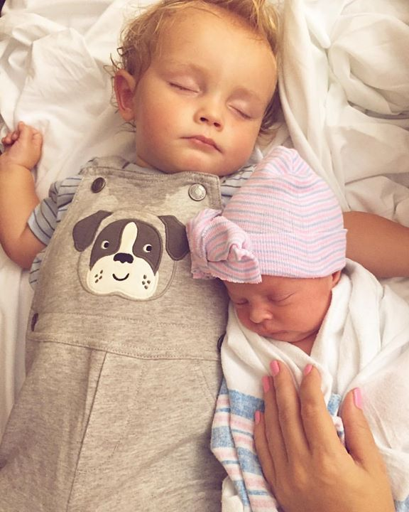 Erin planned ahead for little Brookie's arrival when she recorded her first lullaby CD…