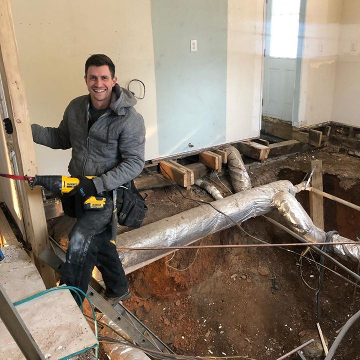Stopped by Chad's current job the other day to see the progress! Wow! What…