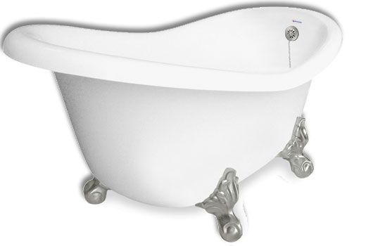 Jetted Clawfoot Slipper Tub Monroe 55 By American