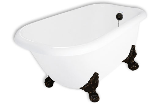 67 Clawfoot Tub Maverick By American Bath Factory