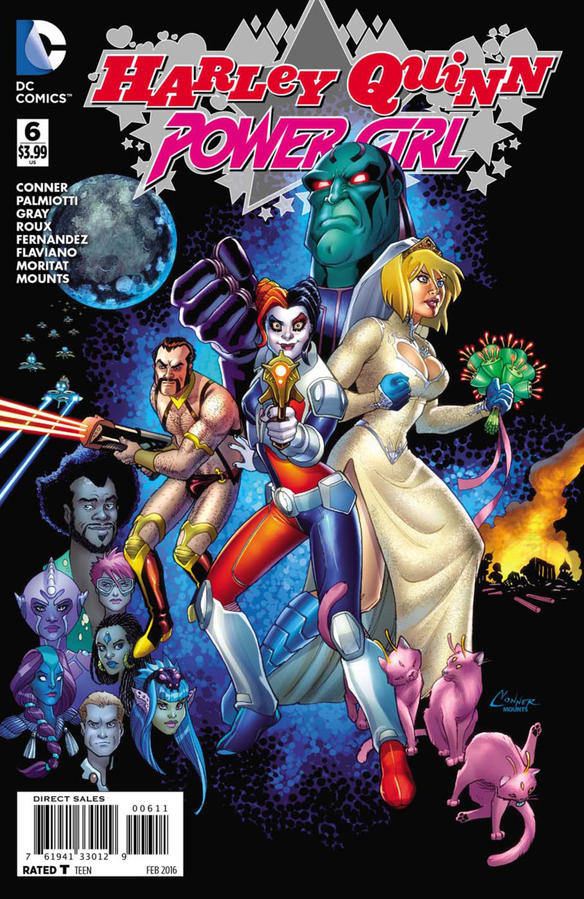 The Batman Universe  Review Harley QuinnPower Girl 6