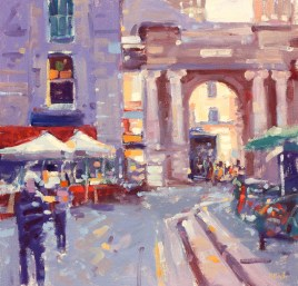 Royal Exchange Square by Peter Foyle
