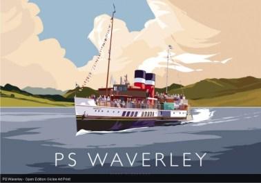 PS Waverley by Peter McDermott