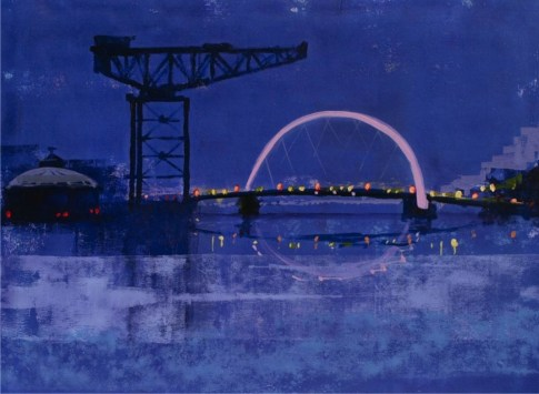 Squinty Bridge by Colin Ruffell