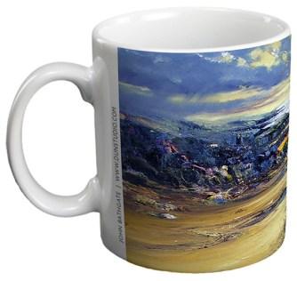 Towards Harris - Ceramic Gift Mug by John Bathgate