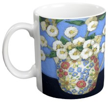 Blossoms in a Jessie M King Jug Gift Mug by Fiona Millar