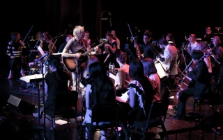 John Vanderslice and the Magik*Magik Orchestra, 6/17/11 at the Herbst Theater