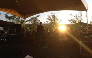 The Mountain Goats at Front Porch Music Fest 9-1-12 - photo by Eric O'Donnell