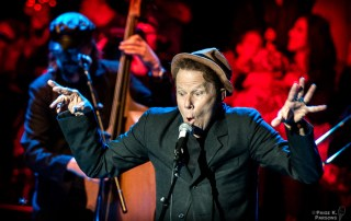 Tom Waits @ the Bridge School Benefit, 10/27/13 - by Paige K. Parsons