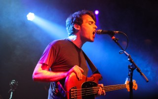 Delorean @ The Independent 2/10/14 - photo by Gary Magill