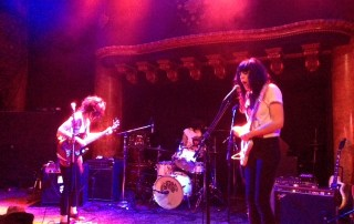 The Coathangers @ GAMH 3/24 - Photo by: Tim Draut