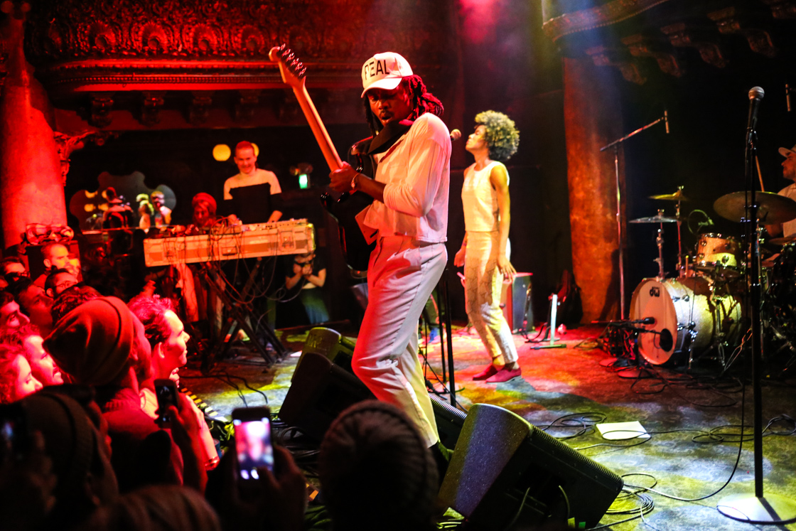 Blood Orange @ GAMH, 4/15/14 - Photo by: Gary Magill