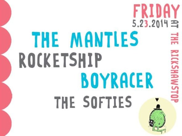 The Mantles - flyer