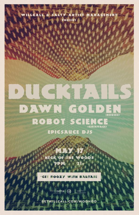 Ducktails at Neck of the Woods